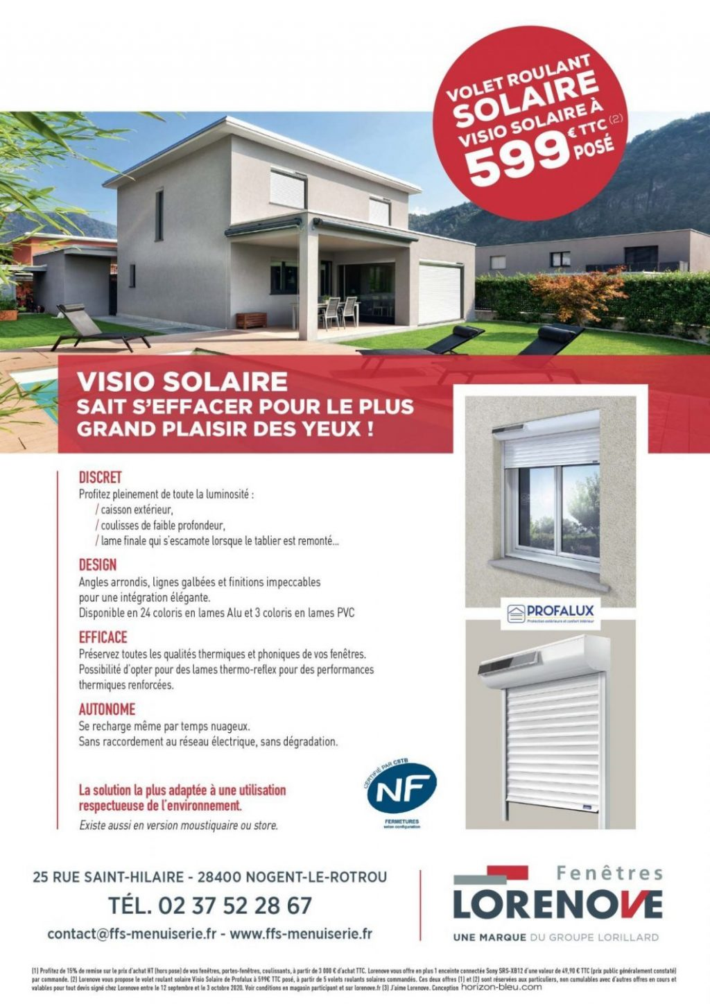 Promotion visio solaire